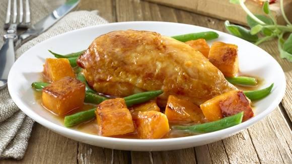 Chicken with Butternut Squash