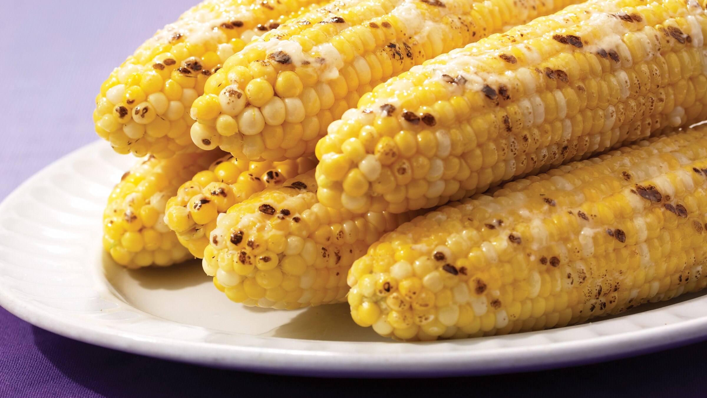 Summer Spicy Iowa Corn-on-the-Cob
