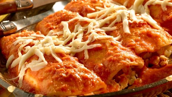 Knorr Red Chili Enchiladas