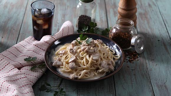 Spaghetti in Coconut Sauce Recipe