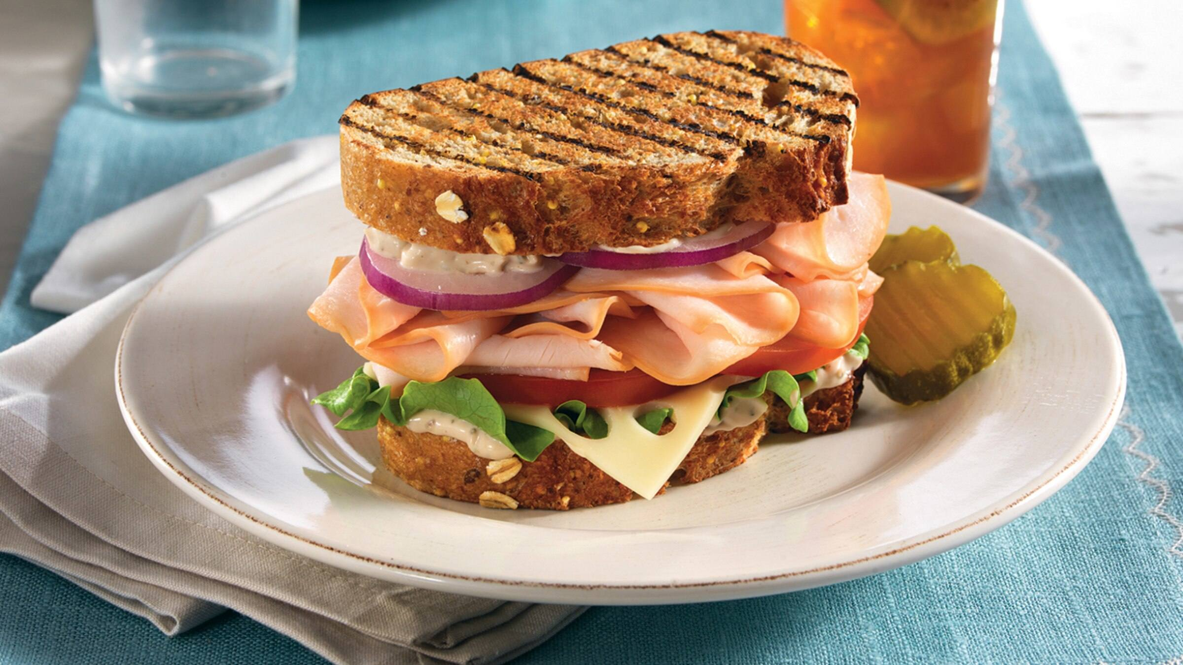 Balsamic Turkey Sandwiches Recipe