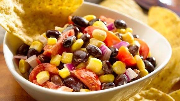 Creamy Black Bean & Corn Salad