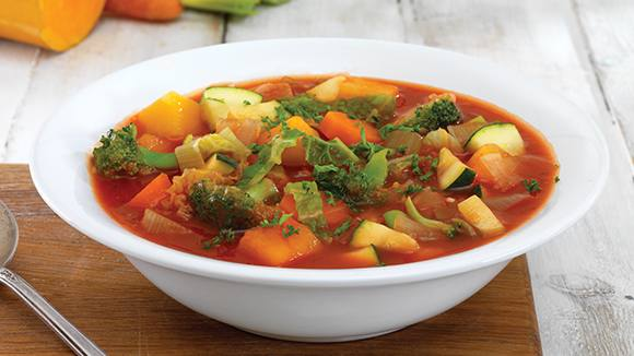 Vegetable and Tomato Soup