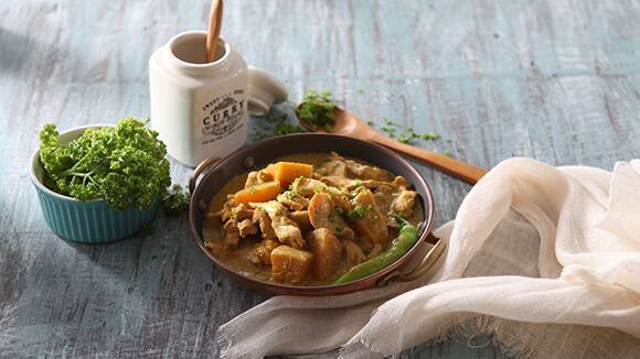 Chicken Kalabasa Curry Gata Recipe