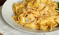 A Quick and Simple Tagilatelle with Pancetta Recipe