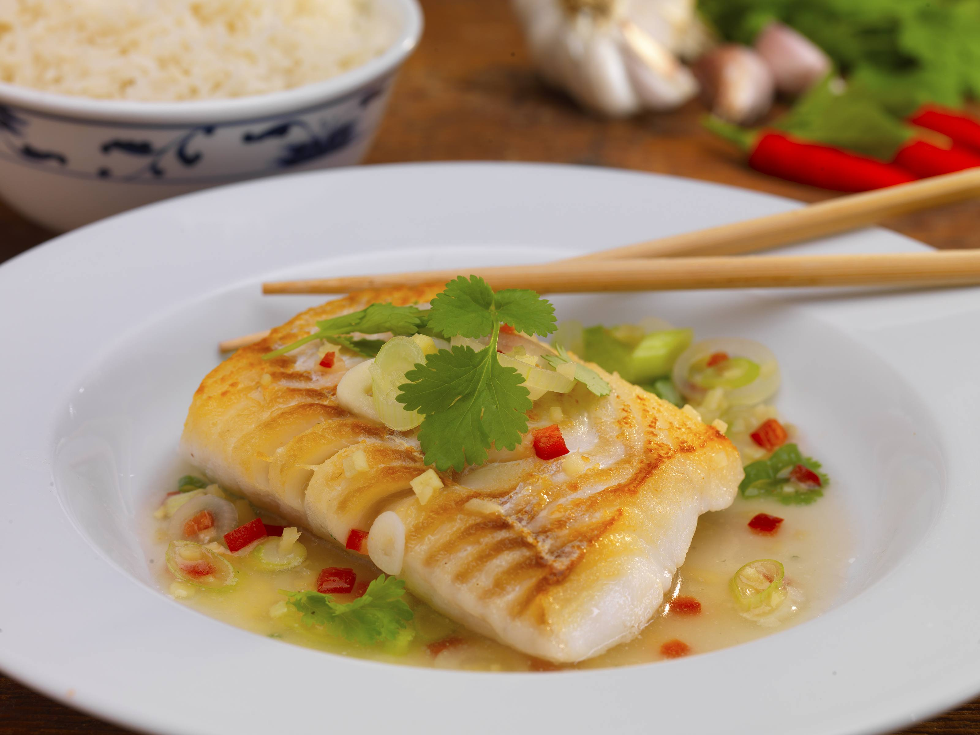 Chinese Style Cod Fillet