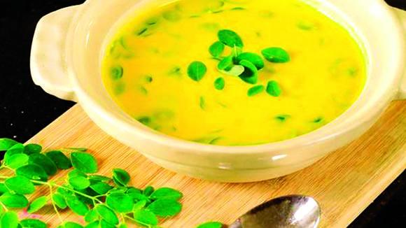 Quick Moringga Squash Cream Soup Recipe