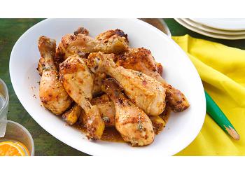 Fırında Kekikli&Susamlı Yumuşacık Tavuk Baget
