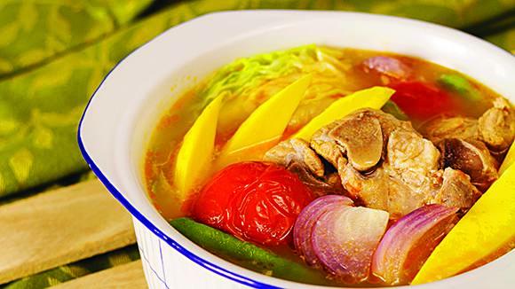 Simple Sinigang sa Mangga Recipe