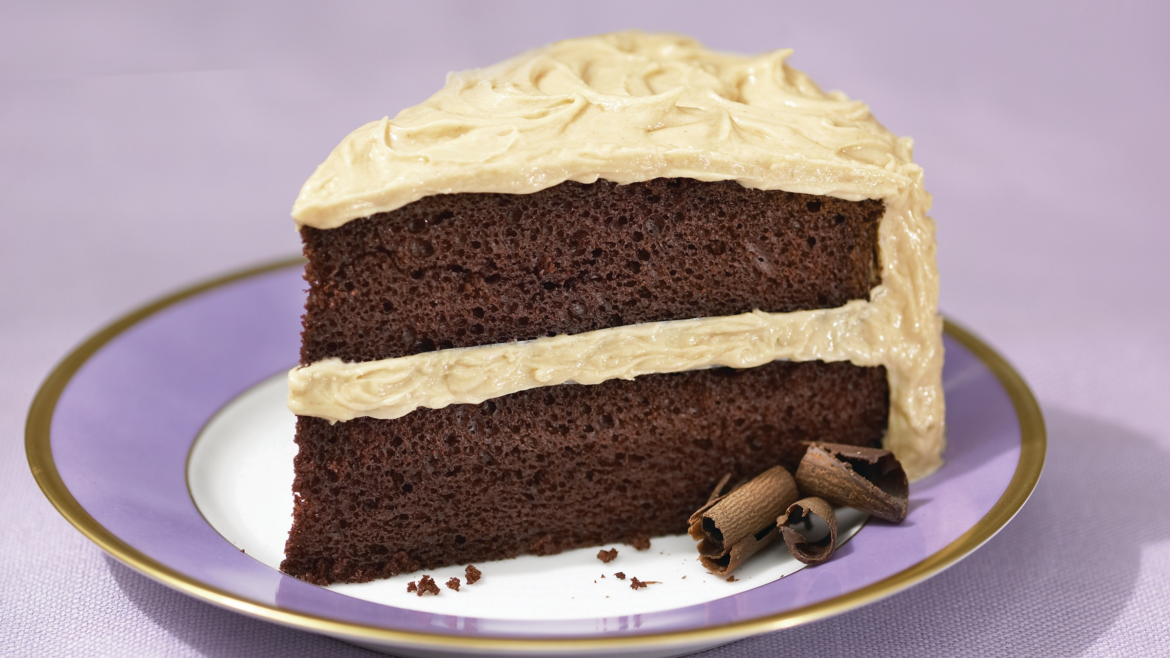 Peanut Butter Frosting Chocolate Mayonnaise Cake