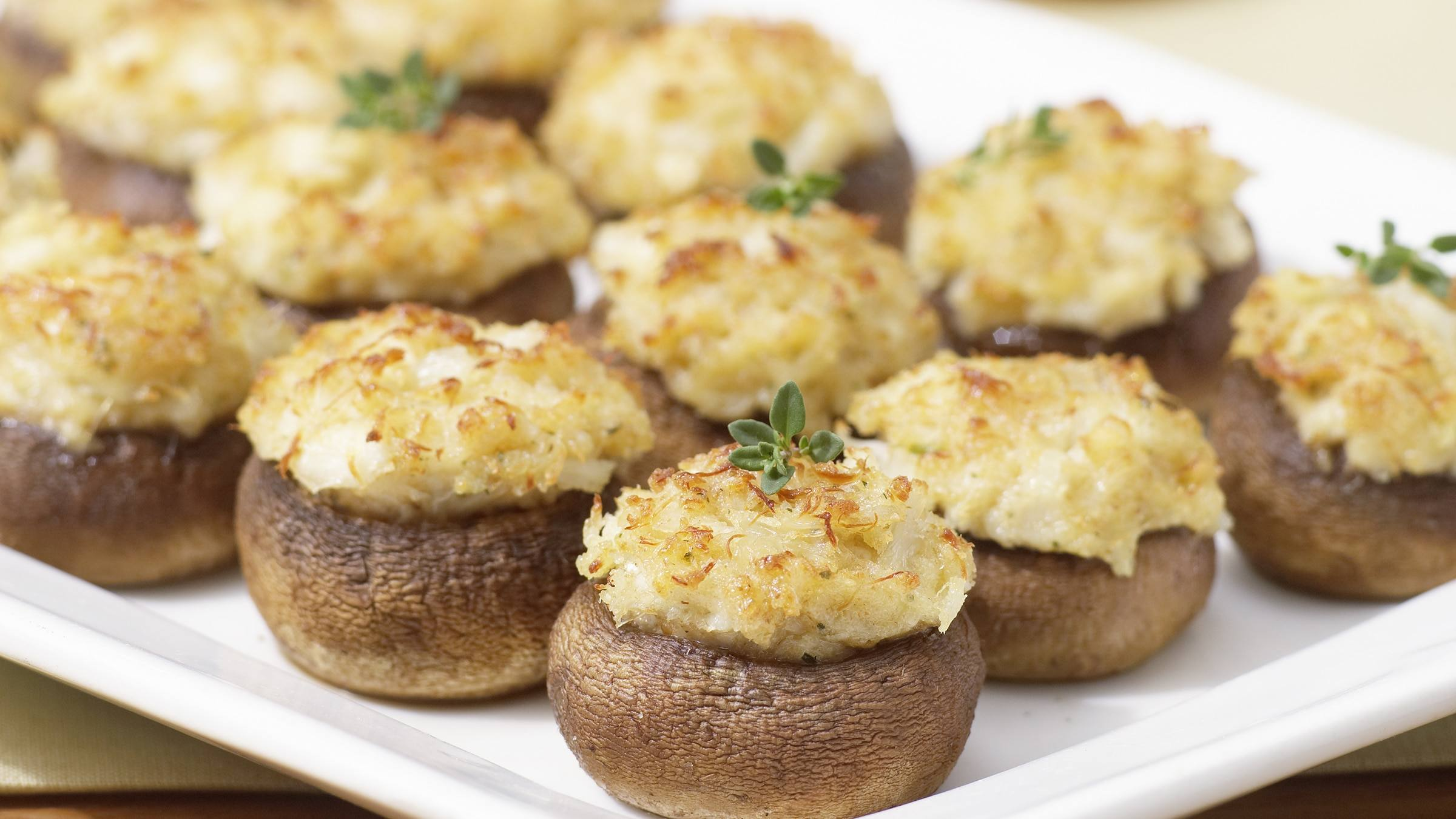 Image result for stuffed mushrooms