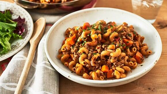 Beef And Mushroom Bolognese