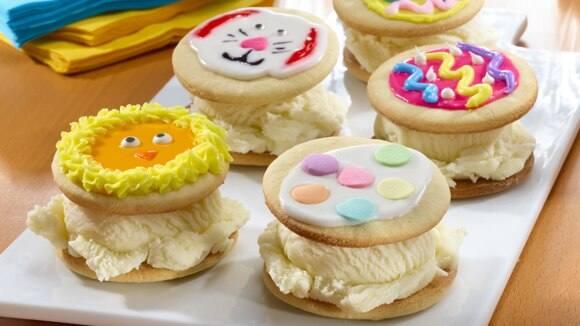 Festive Ice Cream Sandwiches Recipe