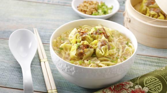 Wonton Noodle Soup Recipe