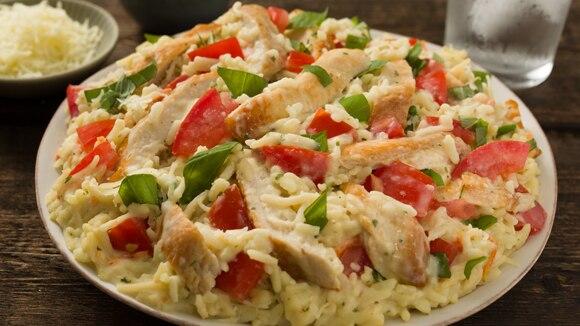 Creamy Bruschetta Chicken