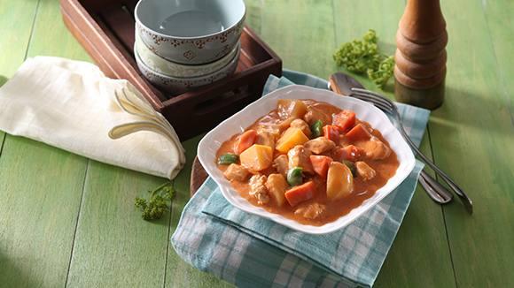 Chicken Tomato Gata Stew Recipe