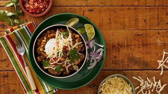 Chili Lime Veggie Burrito Bowl