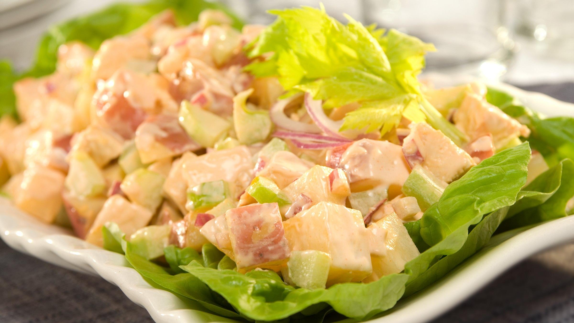 Buffalo Chicken & Potato Salad