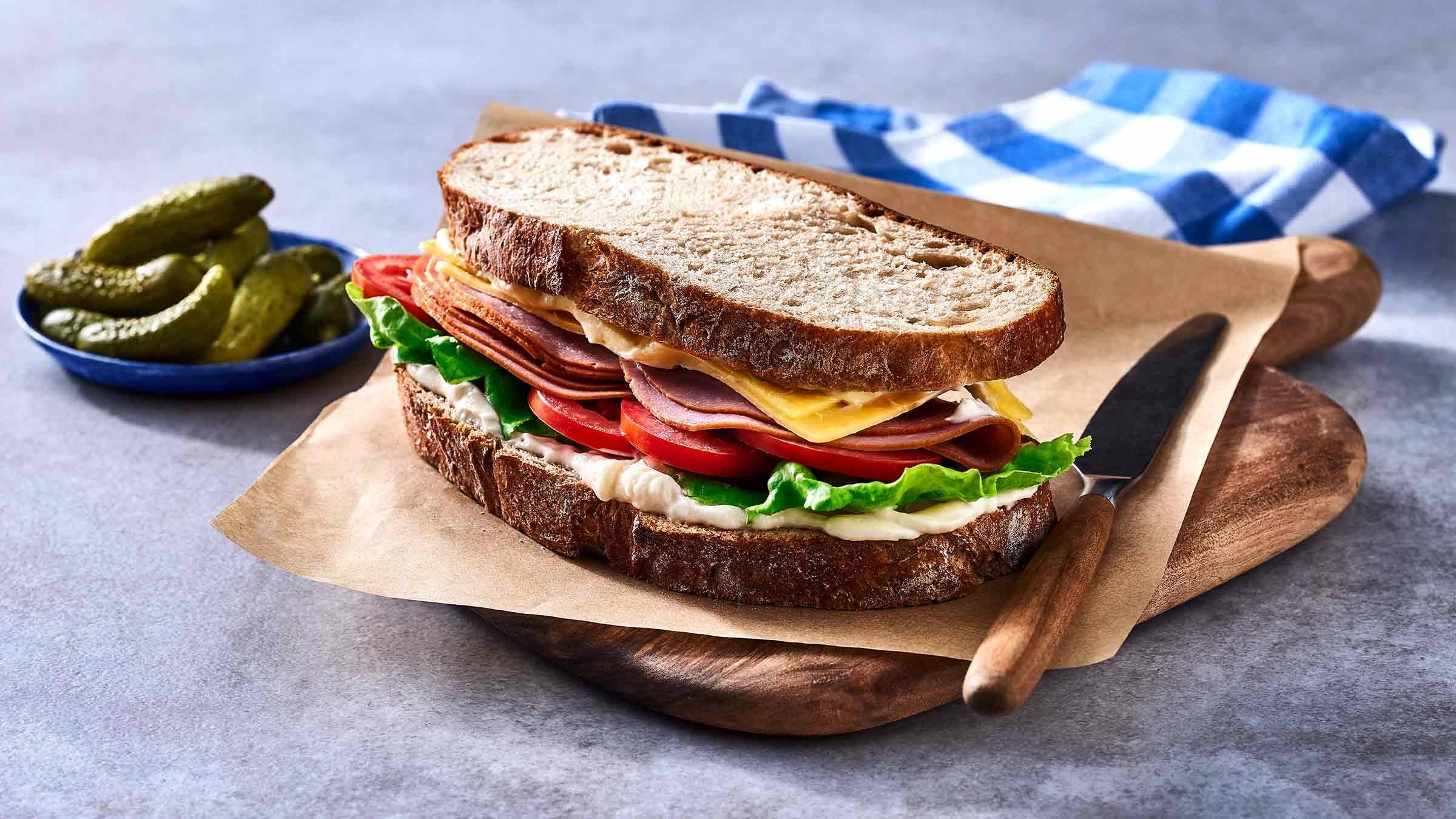 Ham and Cheese Sandwich Recipe