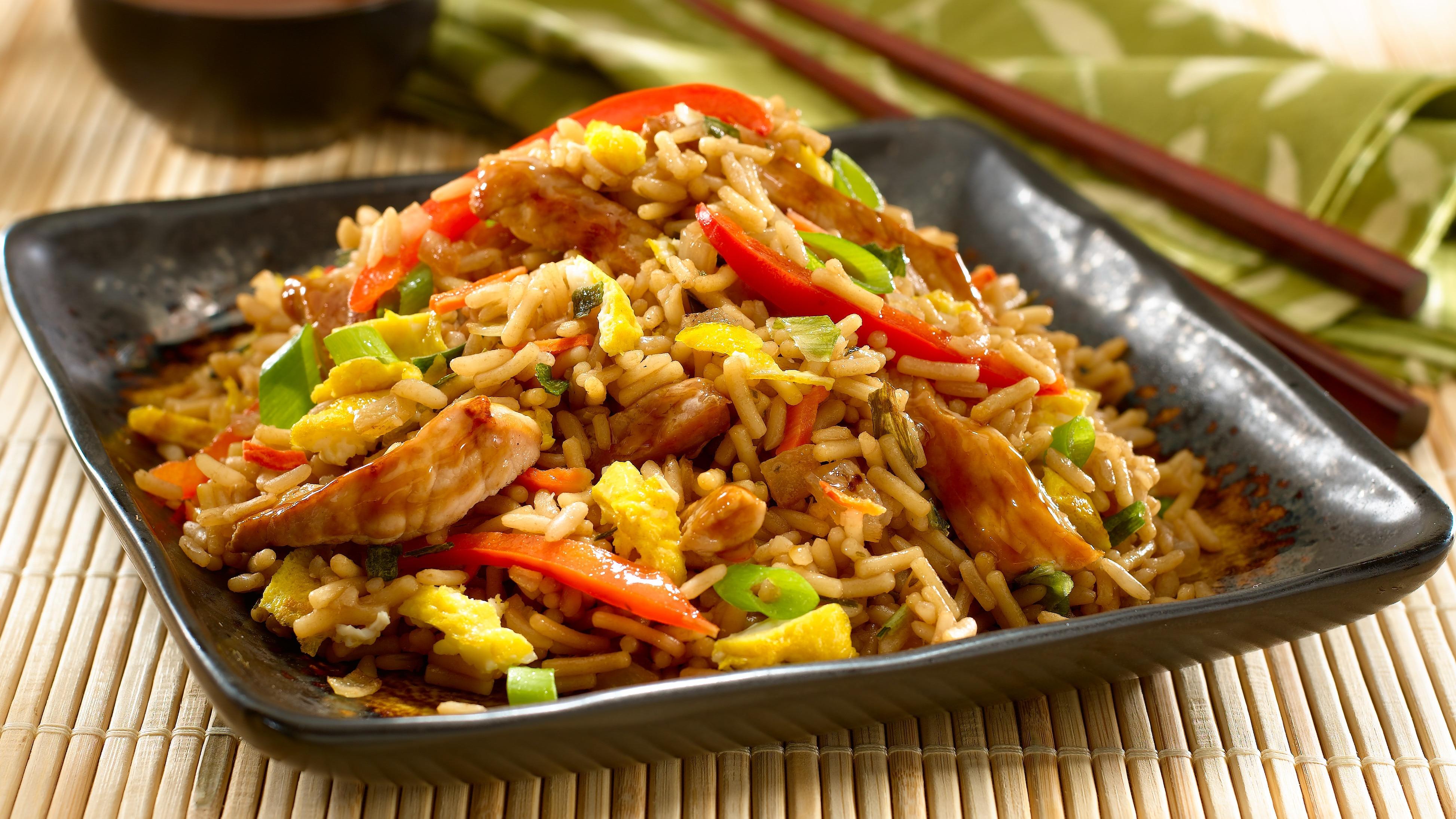 Teriyaki Pork Fried Rice Dinner