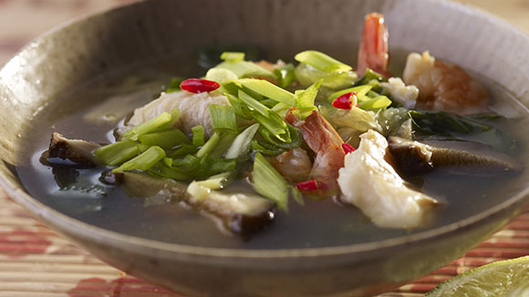 Asian Fish Soup