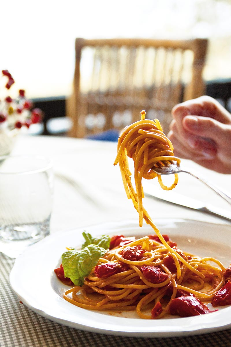 Spaghetti met Kruidige Pomodorino