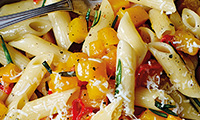 Penne with Butternut Squash, Rosemary and Chilli