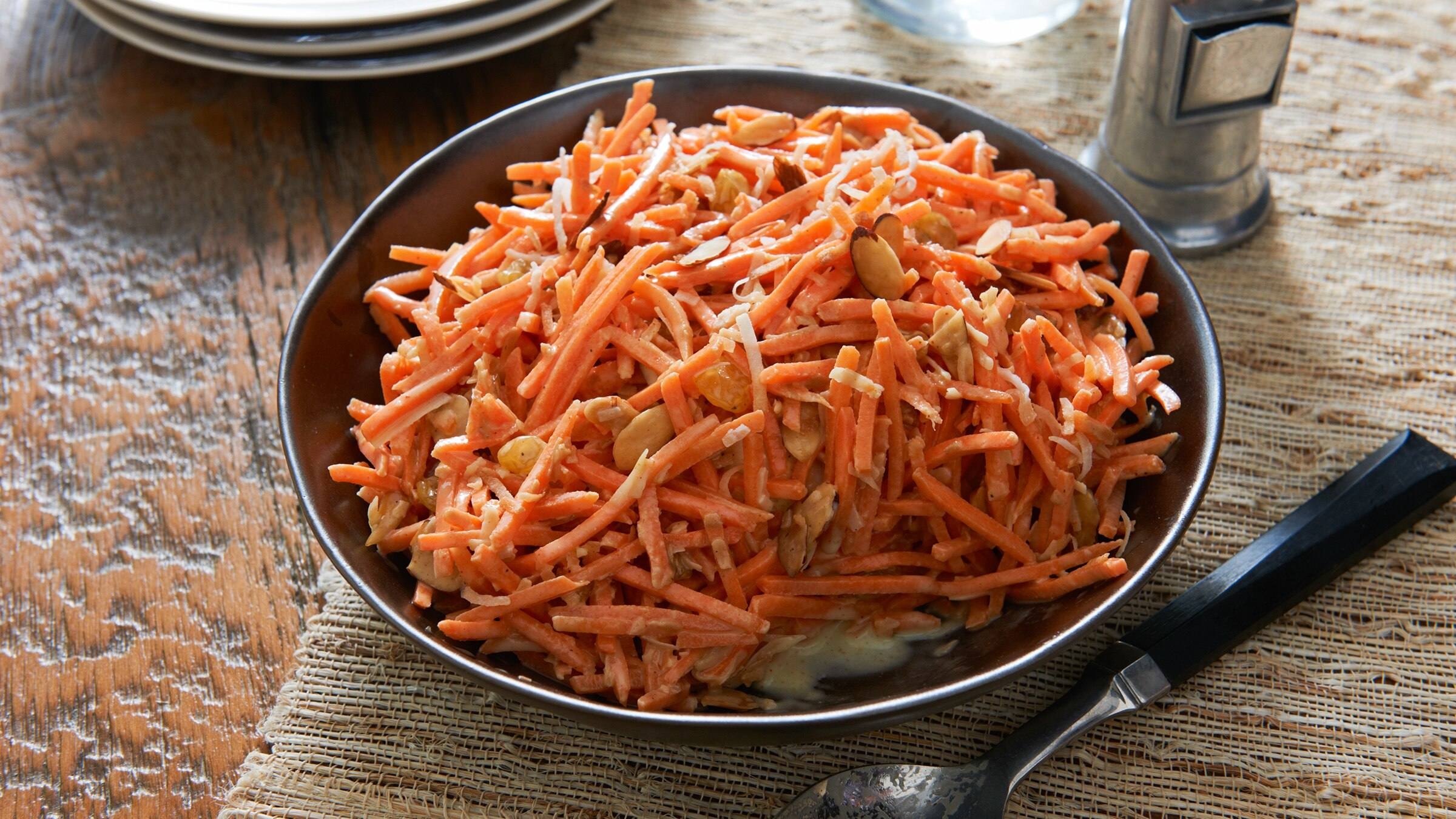 Coconut-Curry Carrot Salad
