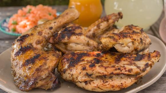 Cuartos de Pollo Asados
