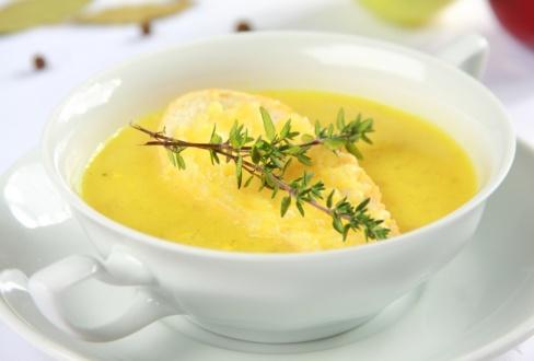 Knorr - Zwiebelsuppe mit Curry