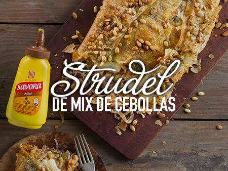 Strudel de Mix de Cebollas