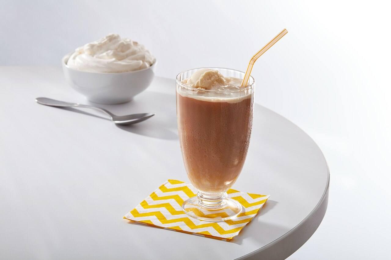 Cold Brew Tea-Time Ice Cream Float