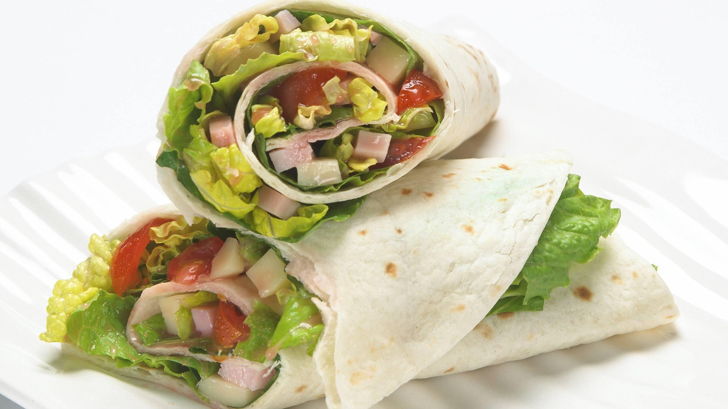 Antipasto Salad Wraps Recipe