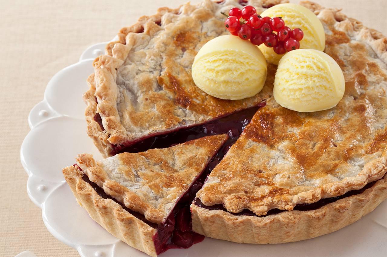 Tatlı Ekşi Vişneli Pie