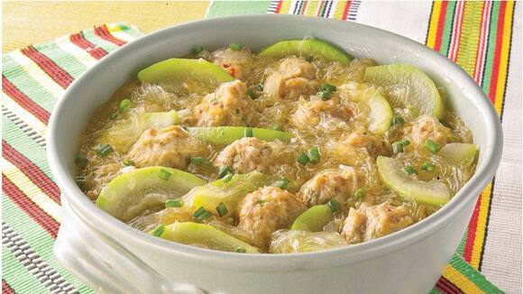 Almondigas with Upo in Sotanghon Recipe