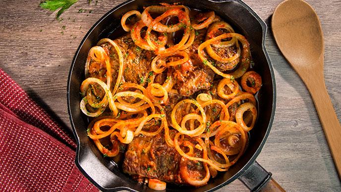 Filetes de carne Criollos Fruco