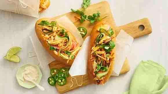 Instant Pot  Chicken Banh Mi
