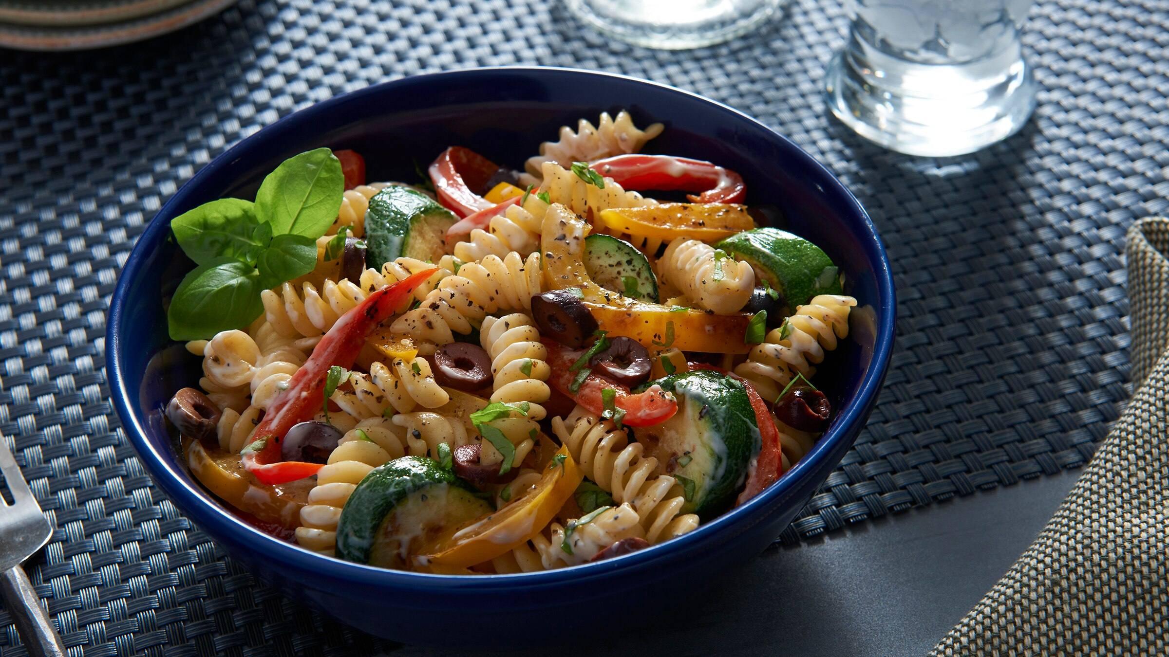 Pasta Salad with Vegetables Recipe