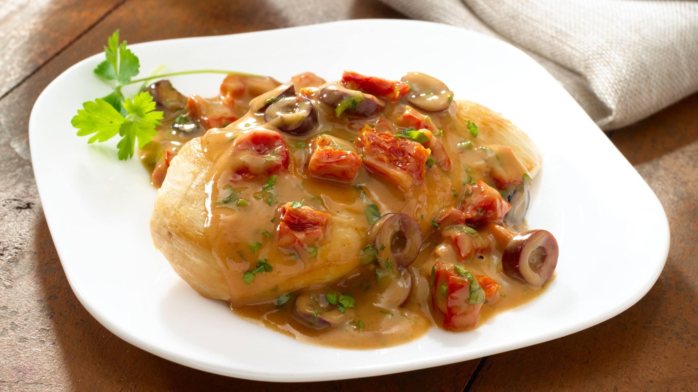 Creamy Mediterranean Balsamic Chicken