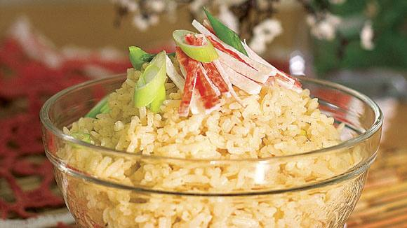 Tasty Aligue Rice Recipe