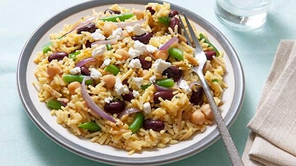 3 Bean Rice Salad