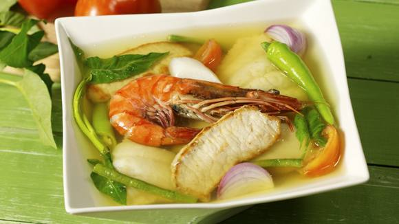 Surf and Turf Sinigang Recipe