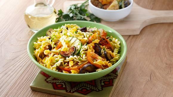 Mixed Veg Tri-Color Pasta Recipe
