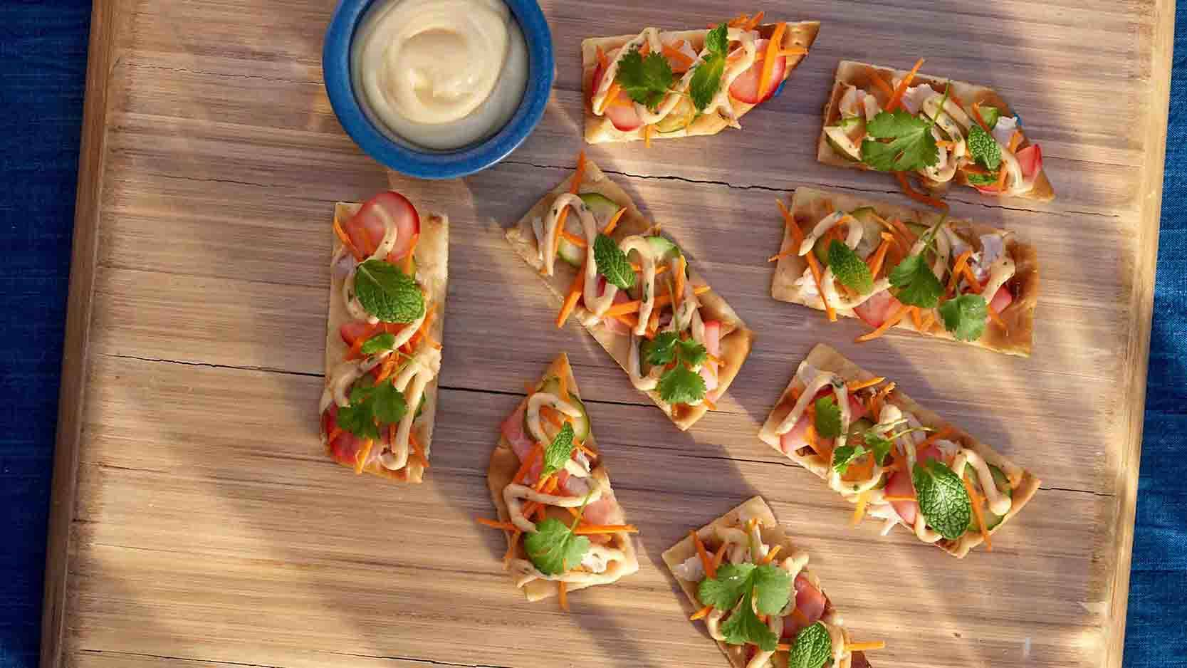 Banh Mi Flatbreads Recipe