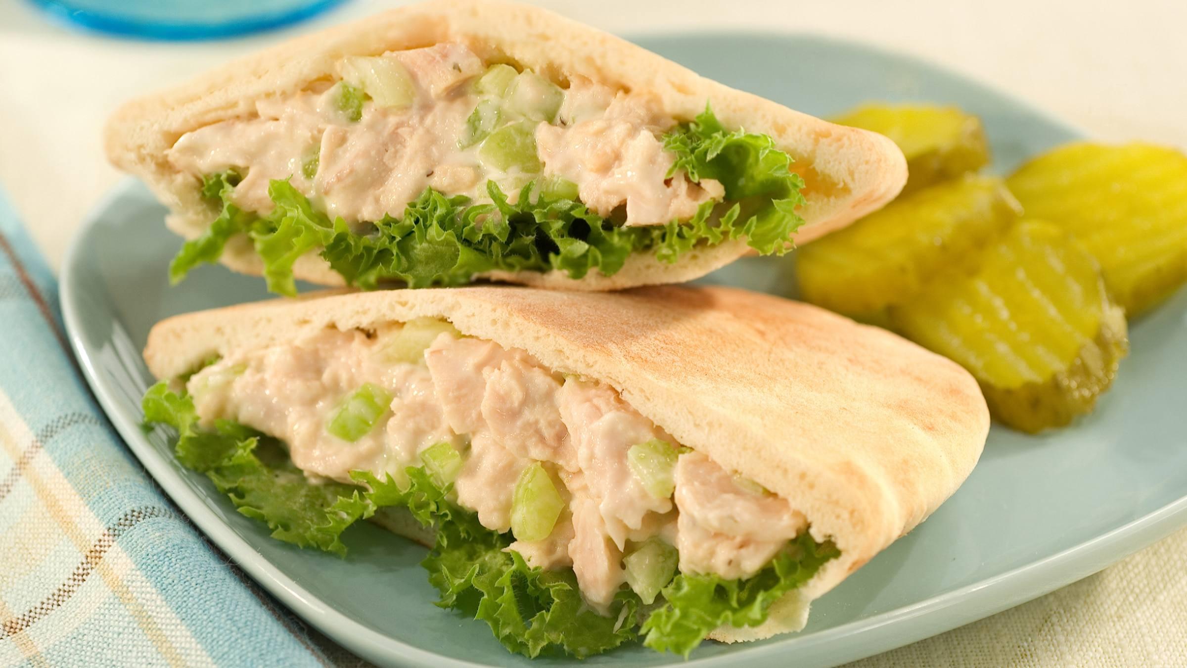 Tuna Salad in Pitas
