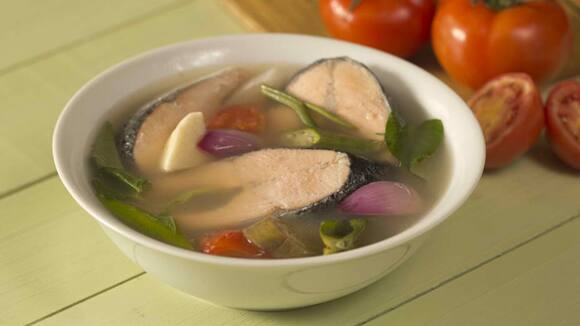 Sinigang na Salmon Recipe
