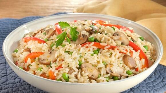 Easy Chicken & Vegetable Rice