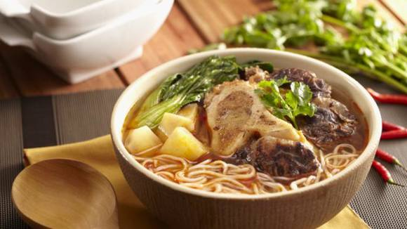 Spicy Bulalo Noodles Recipe
