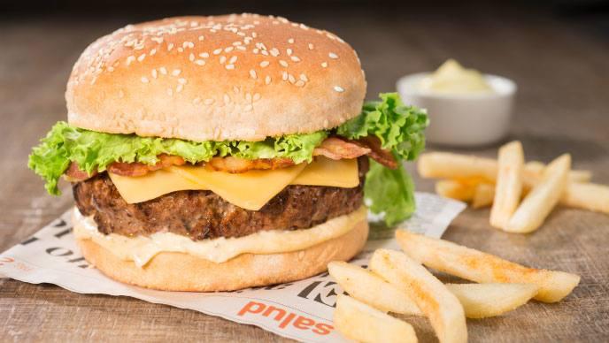 Hamburguesa con Mayodulce Fruco®