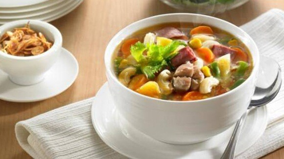 Sup Macaroni Asam Nanas